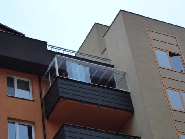Bezrámový systém Thermalux – Bratislava Vyšehradská ul