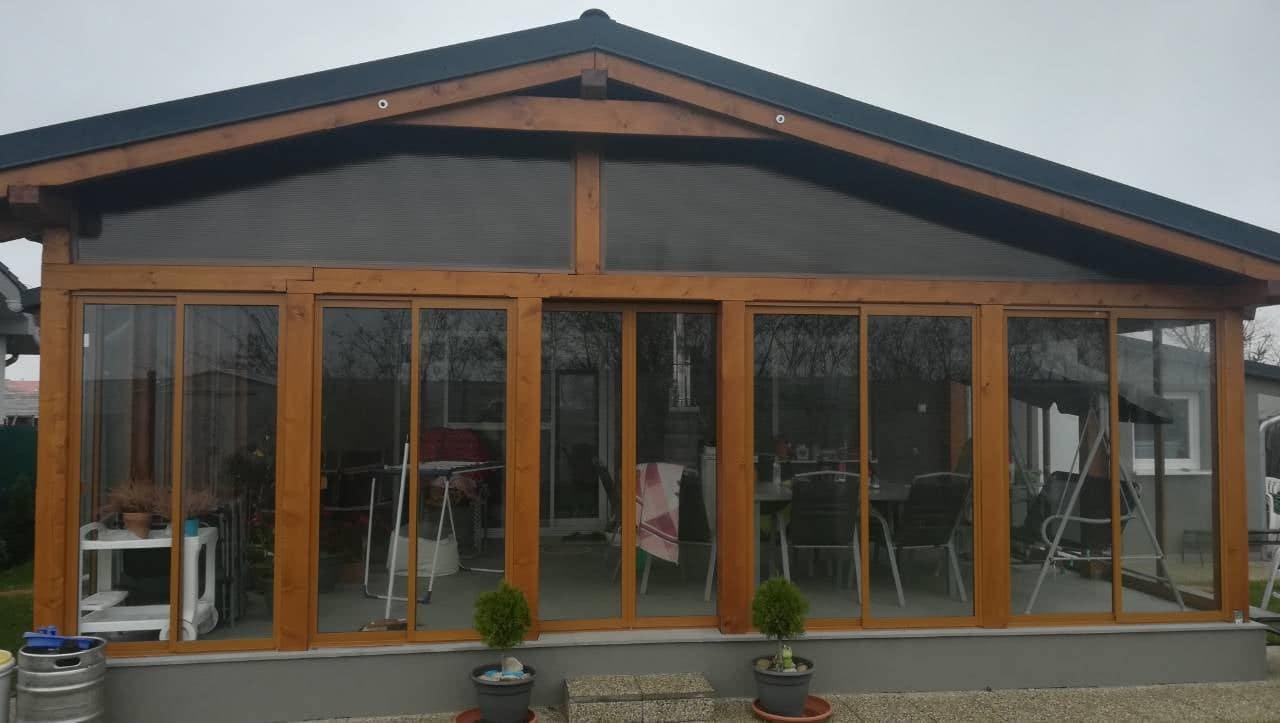 Zasklenie terasy – Nové Košariská